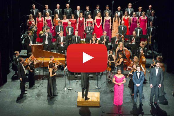 Vidéo de La Création de Haydn par Le Palais royal