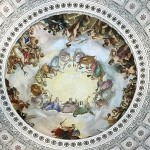 Fresque de la coupole Apothéose de Washington par Constantino Brumidi
